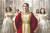 "Jenna Coleman portrays English Queen ""Victoria,"" premiering as part of ""Masterpiece"" on PBS in January."