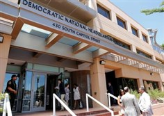 The headquarters of the Democratic National Committee in Washington, D.C.