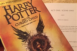 """Harry Potter and the Cursed Child, Parts One and Two,"" is a book version of the play that opened in London."