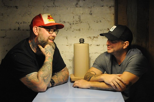 Keith Fuller and Richard DeShantz talk about their new restaurant, Pork & Beans.