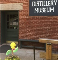 This is a pokemon that can be found at West Overton Distillery Museum in Westmoreland County.