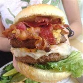 Uno Pizzeria & Grill's Whole Hog Burger served with sides packs nearly 3,000 calories.