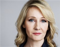 "J.K. Rowling, who with Jack Thorne and John Tiffany is credited with the story for ""Harry Potter and the Cursed Child."""
