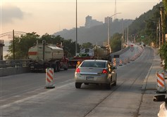 All lanes have reopened on West Carson Street in the West End of Pittsburgh after a months-long construction project.