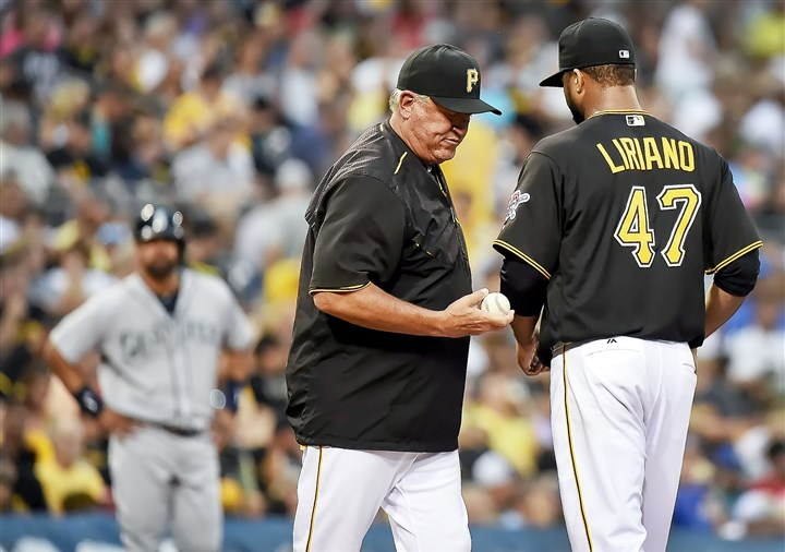 20160726pdPiratesSports12-2 Francisco Liriano was unimpressive this season with the Pirates.