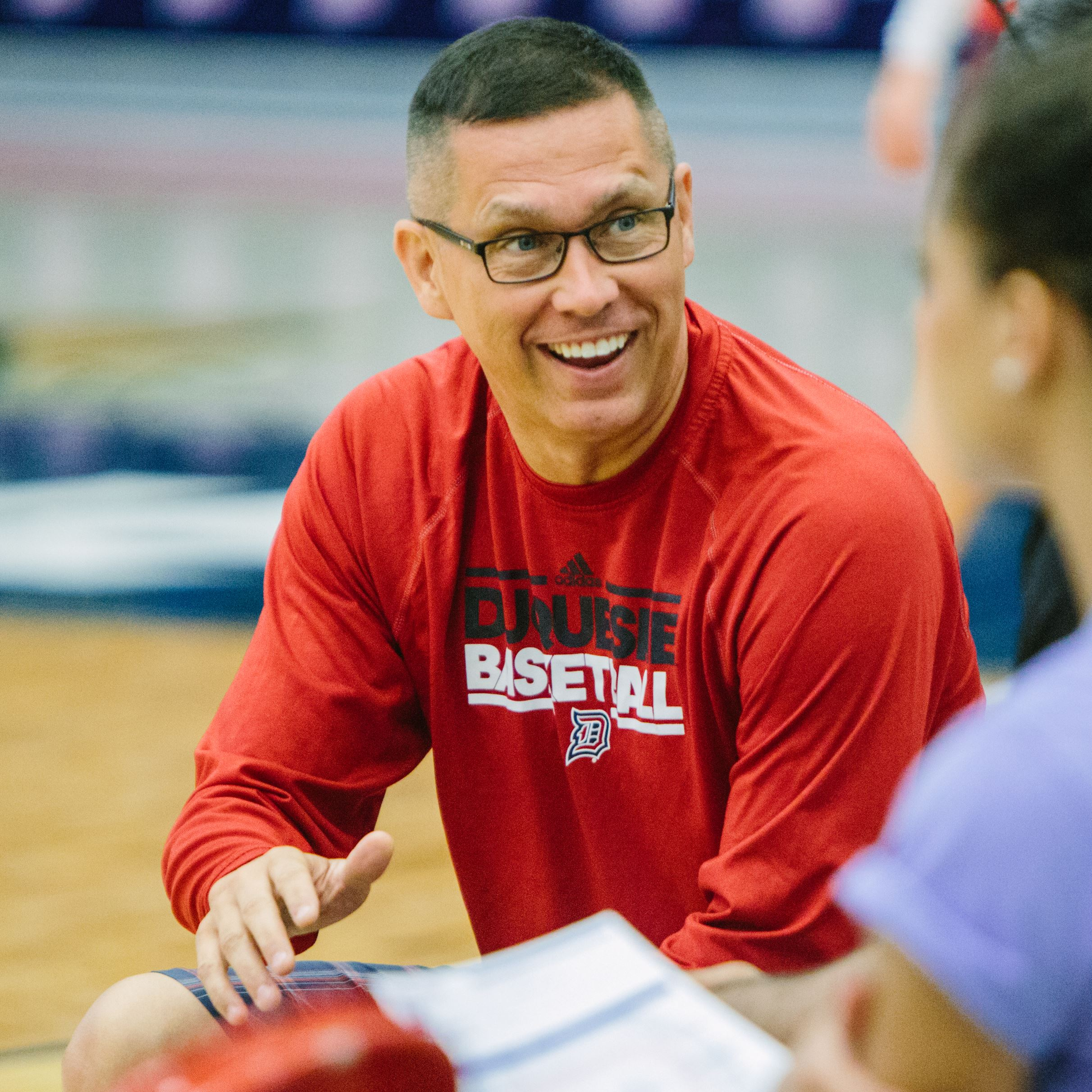duquesne women Julijana vojinovic, a guard on the duquesne women's basketball team, was fine-tuning her dribble in a half-court drill earlier this week at the palumbo center when dan burt pointed to vojinovic's chest.