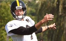 Chris Boswell will not play in the Steelers game against the New York Giants at Heinz Field.
