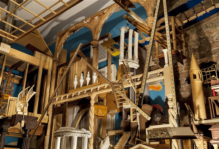 Dennis Maher installation opens at Mattress Factory