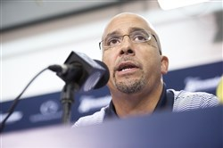 James Franklin went 14-12 in his first two seasons as Penn State football coach.