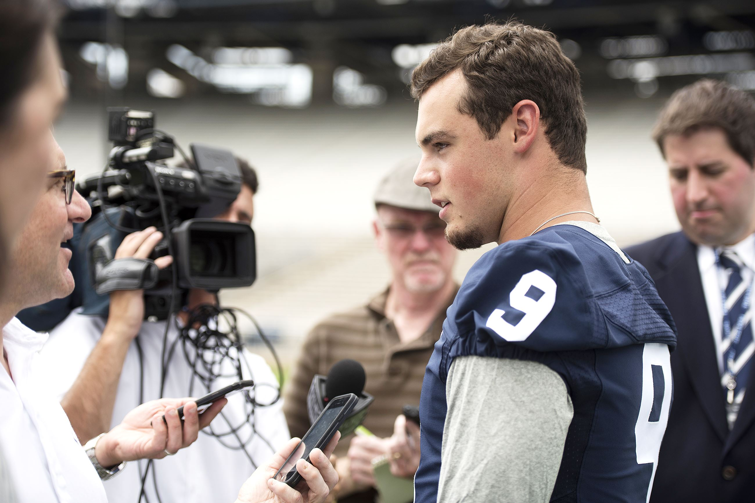 how tall is trace mcsorley