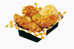 KFC Georgia Gold fried chicken.