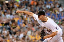 Jameson Taillon had a strong season in the majors, with a 3.38 ERA and 85 strikeouts.
