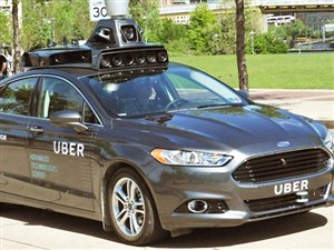 Uber's self-driving car