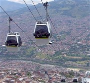 Gondolas over Medellin: a transport system that helped transform the city