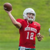 South Fayette quarterback Drew Saxton appears primed for a big year.