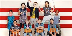Back-to-school styles from Cat & Jack, a new line of children's wear at Target.
