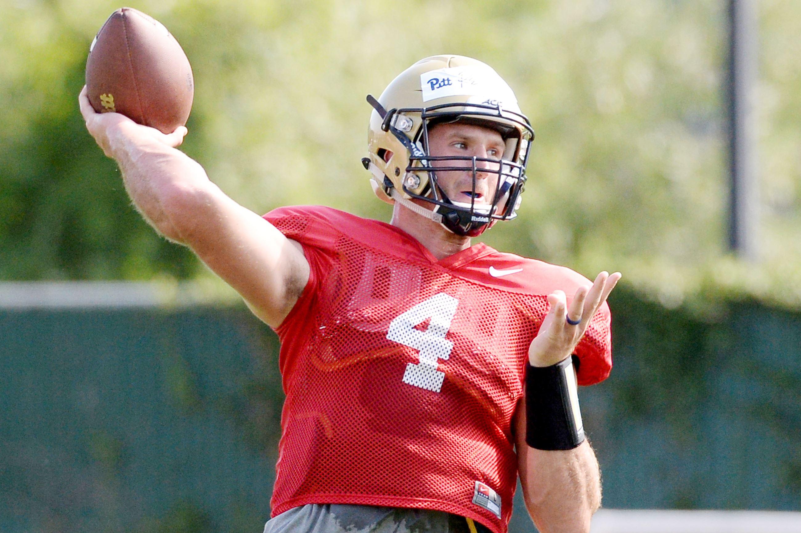 Nathan Peterman Draft Profile >> Nathan Peterman leads half-dozen Pitt products at NFL combine   Pittsburgh Post-Gazette