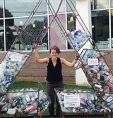 Samantha Weaver has worked this summer for Allegheny CleanWays on the Recycle Right project.