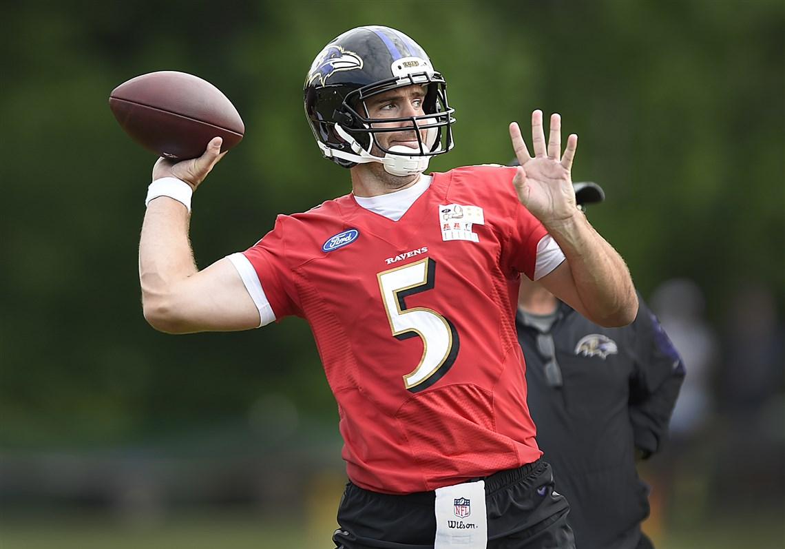Paul Zeise Joe Flacco never has and never will compare to Ben