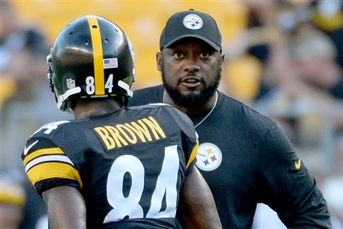 Mike Tomlin says Antonio Brown will be punished.