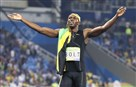 Jamaica's Usain Bolt celebrates winning the men's 100-meter final during 2016 Summer Olympics at the Olympic stadium in Rio de Janeiro Aug. 14.