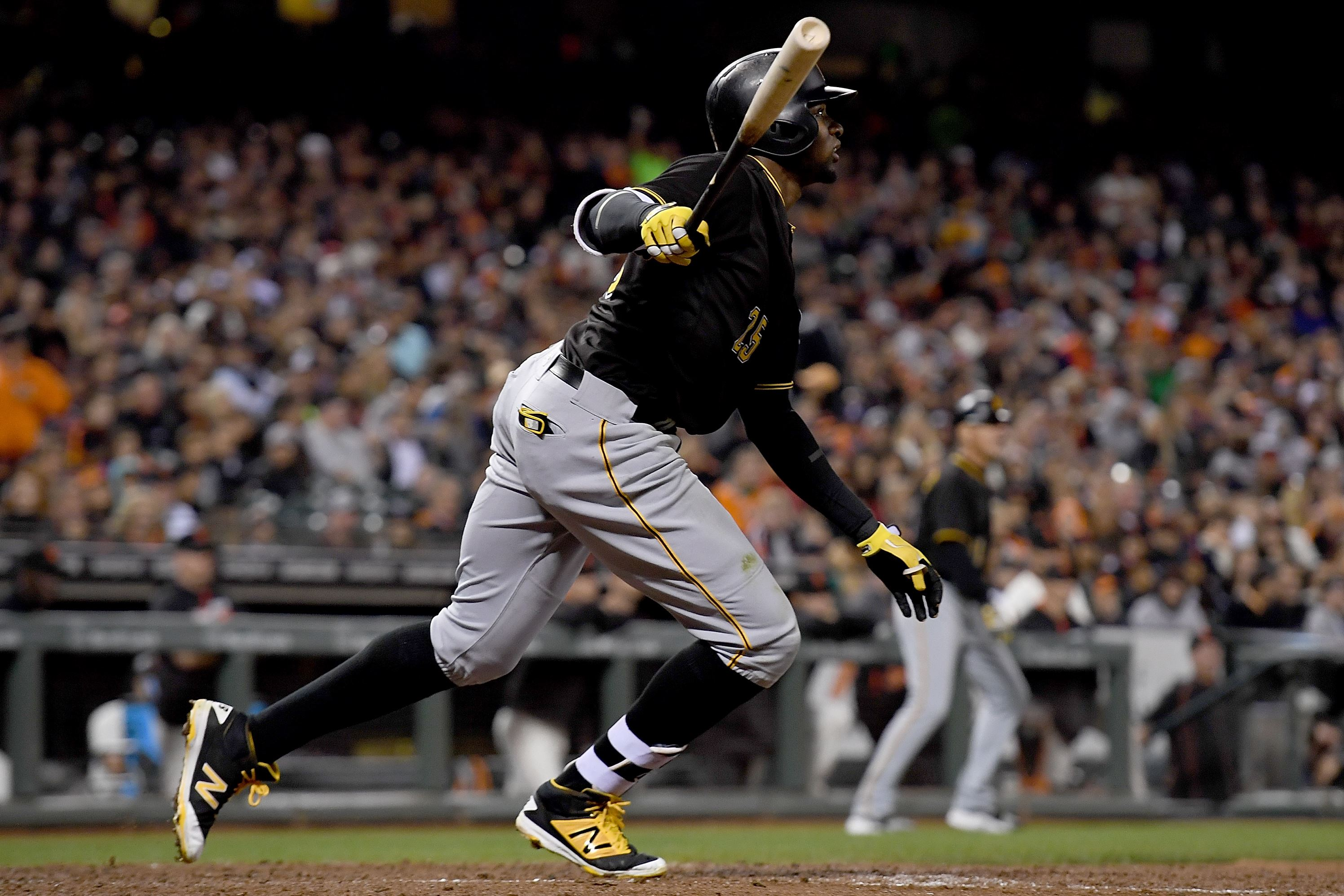 Gregory Polanco's power begins to show up
