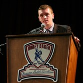 Jimmy Vesey won the Hobey Baker Award earlier this year.