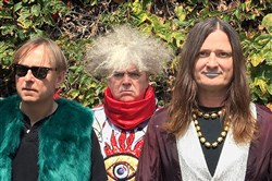 The Melvins: From left, Dale Crover, Buzz Osborne and Steven McDonald.