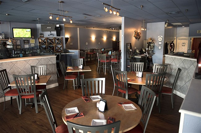 The main dining area of Blue North in McCandless.