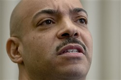 Philadelphia District Attorney Seth Williams speaks during a news conference Tuesday, March 10, 2015, in Philadelphia.