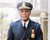 Thomas Carter, Harrisburg police chief.