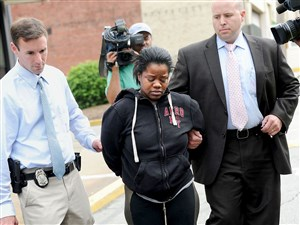 Adriene Williams, 27, has been sentenced to 20 to 40 years in prison for the death of her 3-year-old daughter.