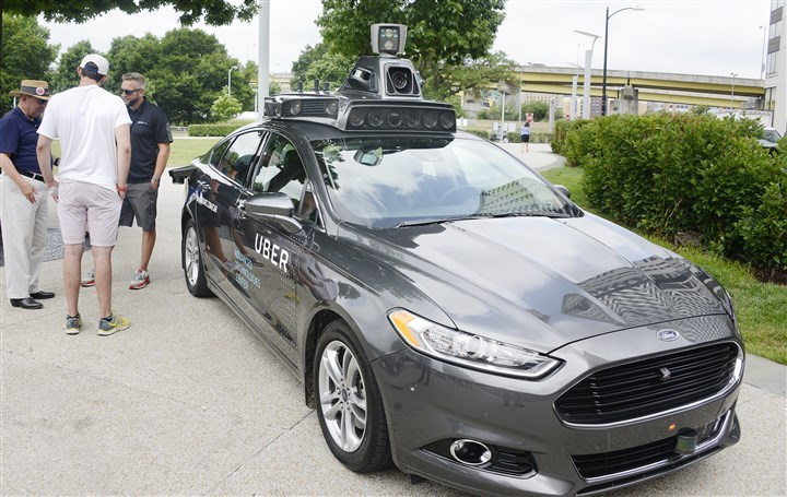 Uber set to offer driverless rides here