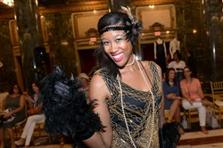 "Chelse Dungee at the 4th Annual Style Week opening event, ""Freestyle,"" at the Carnegie Music Hall in Oakland on Thursday, August 18, 2016. Designers James Houk and Leesa Kassler showed off their styles in the fashion show."