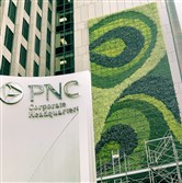"PNC's ""living wall"""