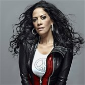Singer and drummer Sheila E. performs at the Byham on Saturday.