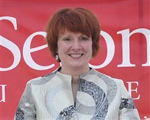 Mary Finger, president of Seton Hill University