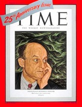 Those were the days: Theologian Reinhold Niebuhr on the cover of Time, March 1948