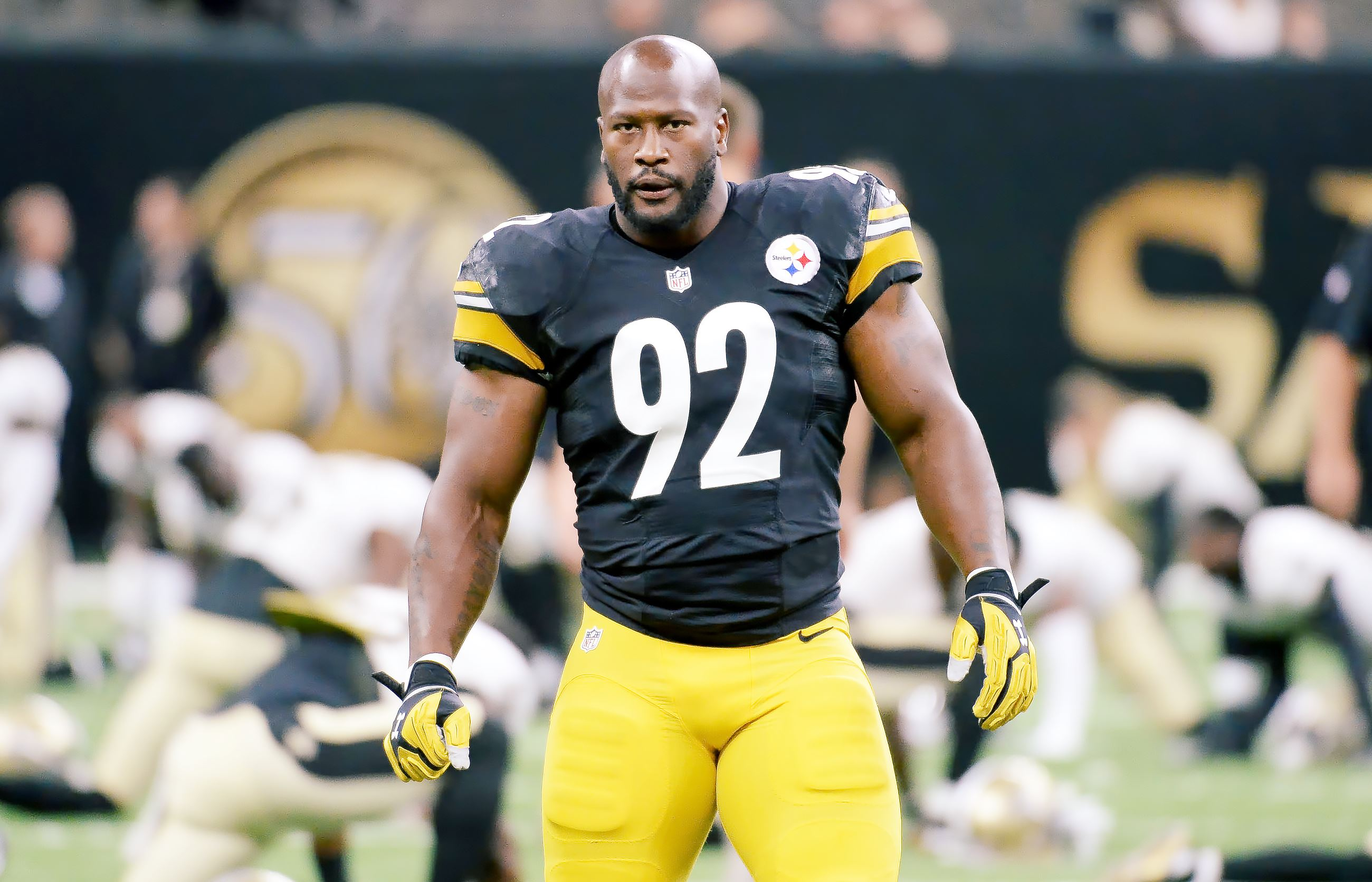 James Harrison accused of using undetectable human growth hormone ...