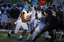 Saeed Holt and Woodland Hills take on Penn-Trafford tonight.