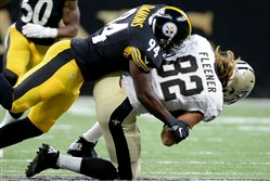 Lawrence Timmons and the Steelers defense look take advantage of another week against a backup quarterback.