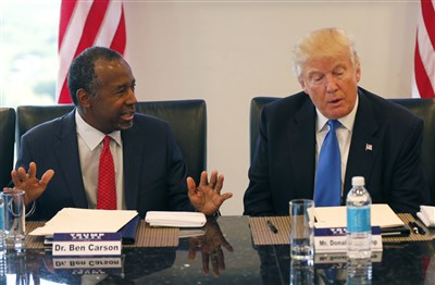 Trump taps Ben Carson as housing secretary