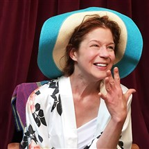 "Karen Baum in the title role as ""Shirley Valentine,"" the PICT Classic Theatre 2016-17 season opener at its new home, the Union Project in Highland Park."