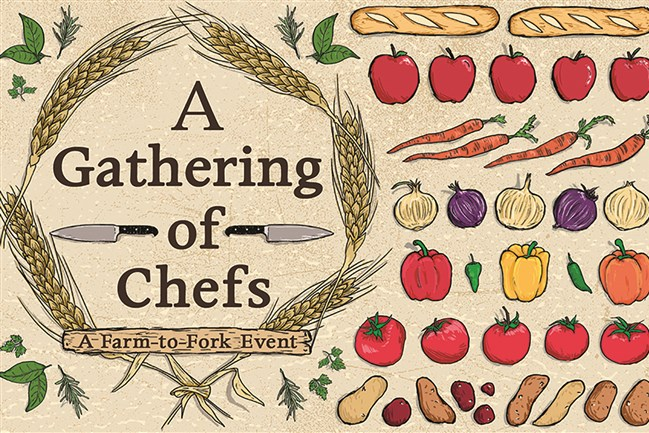 A Gathering of Chefs logo.