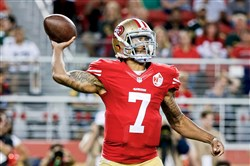 San Francisco 49ers quarterback Colin Kaepernick has garnered loads of attention for his refusal to stand for the national anthem.