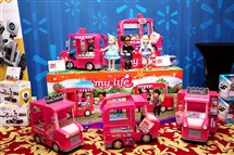 The country's largest retailer lets kids, ages 18 months to 12 years, test out a selection of toys and choose the most popular — including such picks as the My Life as Food Truck (for the budding entrepreneur.