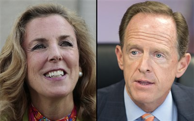 Toomey, McGinty clash over taxes, health care at debate