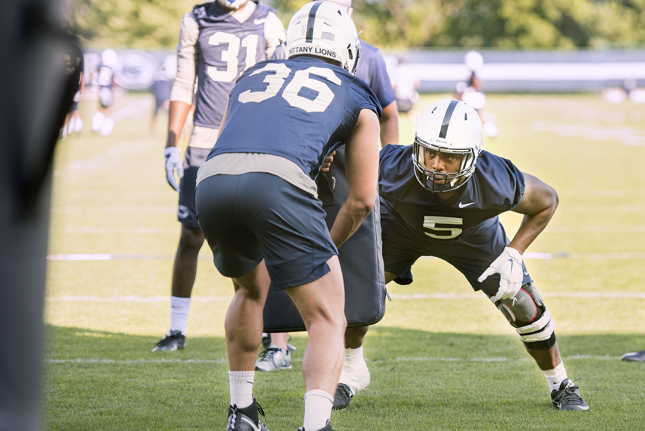 Penn State linebacker Wartman-White out for season