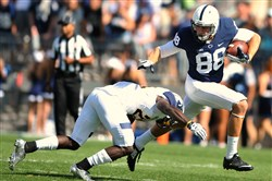 Penn State tight end Mike Gesicki, a Lakewood, N.J., native, is hoping to get a lot of family and friends out to their game at Rutgers.