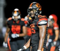 Beaver Falls' Donovan Jeter announced on Twitter that he plans to attend the University of Michigan.